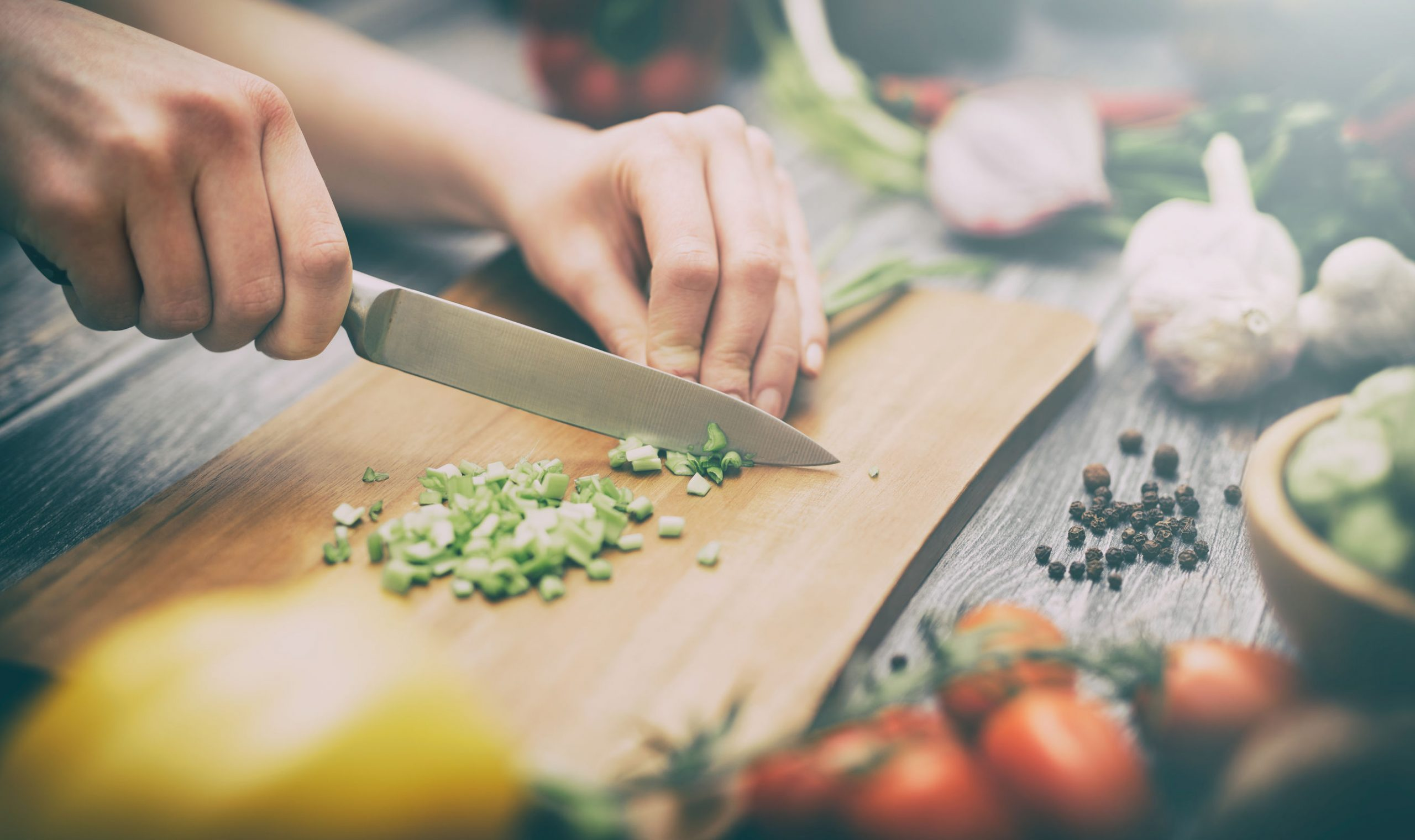 Cooking – Improv Cooking or Cooking Without A Net