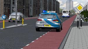 Slagen voor auto rijbewijs theorie examen